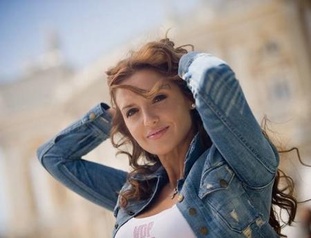 Оксана Марченко - одна из наиболее красивых телеведущих
