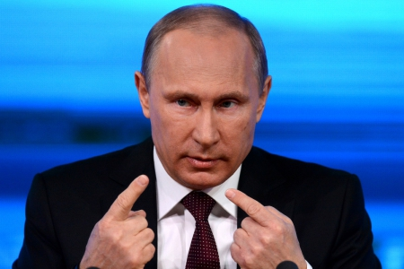 Украинский журналист шокировал российского президента