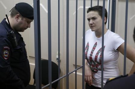 По всему миру проходит акция в поддержку Надежды Савченко