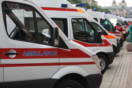 Защитников Донецкого аэропорта встречает Днепропетровск и Одесса каретами скорой помощи