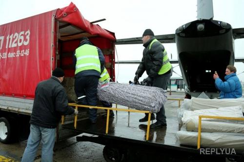 Франция прислала очередной груз с медицинской помощью для раненых в АТО