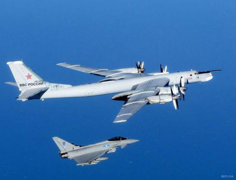 Были перехвачены российские самолеты