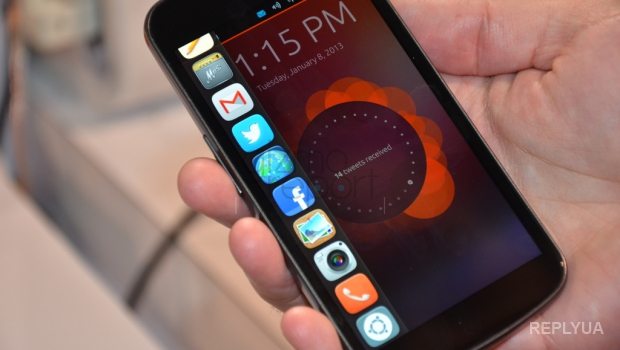 Для любителей техноновинок вышел первый в мире смартфон с Ubuntu