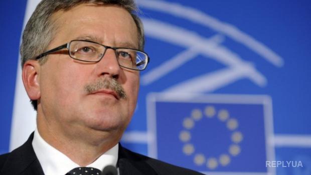Коморовский ратифицирует соглашение об «ЛитПолУкрБриг»