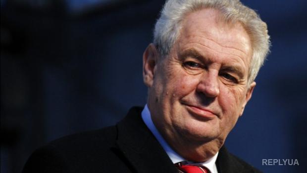 Президента Чехии лишили всех прав и власти за симпатии к России