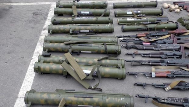 В Донецке планировали мощные теракты – оружие изъято