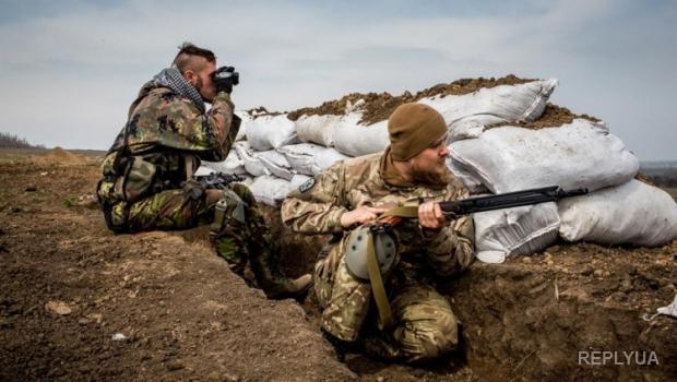 Российские бандформирования не прекращают обстрелы даже по утрам