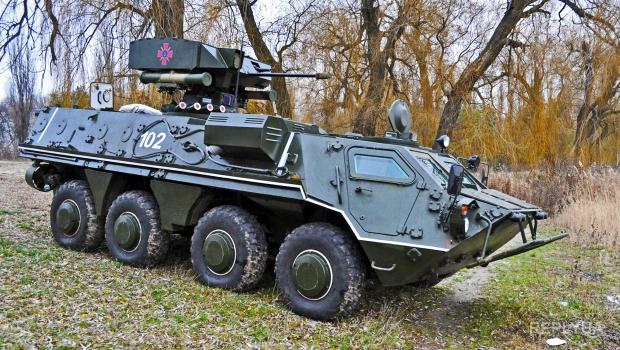 В Украине проводится разработка и создание новейших БТР