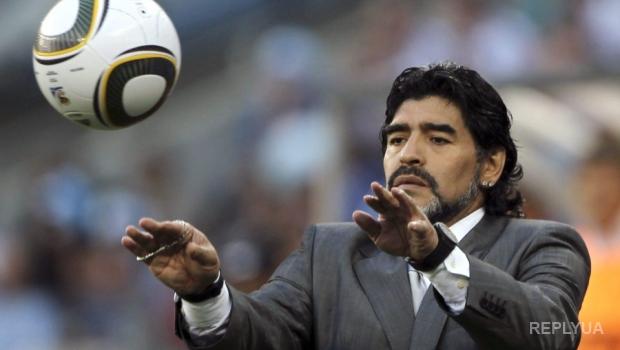 Марадона заявил, что бывшая жена украла у него 9 миллионов