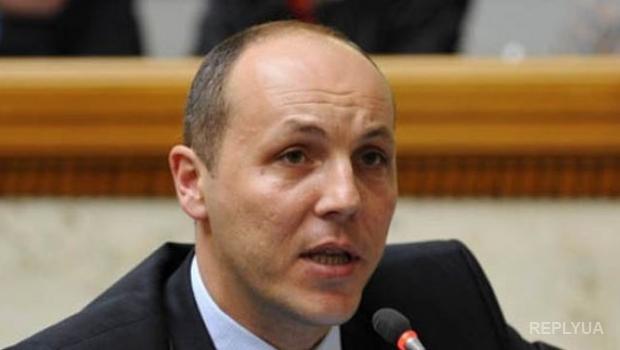 Парубий отмел идею о создании общих патрулей украинской милиции и ДНР