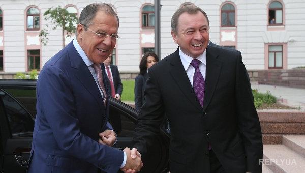 Лавров звонил в Беларусь поговорить об Украине