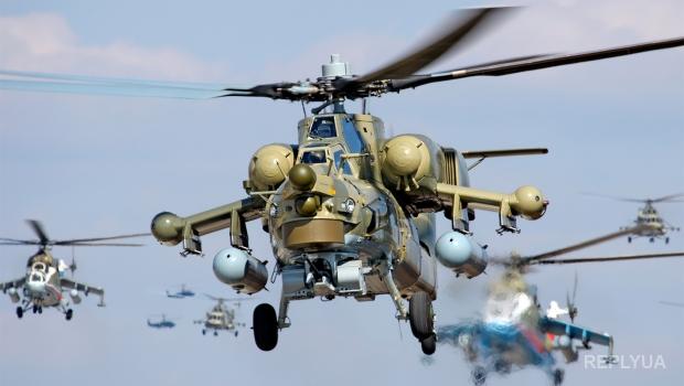 В России упал боевой вертолет