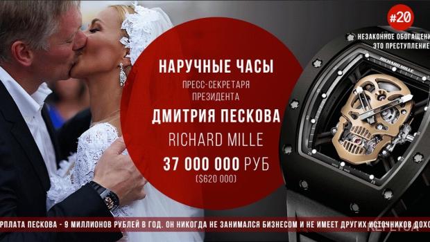 О том, как часы Пескова заставили россиян понервничать