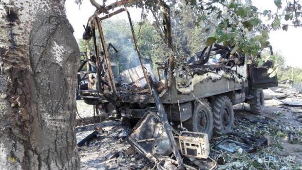 Террористы взорвали склад боеприпасов ВСУ под Горловкой
