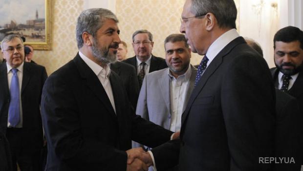 Россия пригласила лидера террористов ХАМАСа в гости