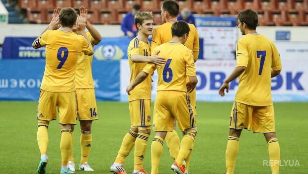 Футболисты молодежной сборной проводят первые тренировки перед отбором на чемпионат Европы