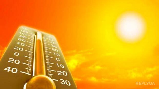 Жаркая погода в Украине побила рекорд 80-летней давности