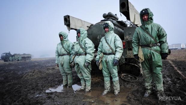 В РФ проводят военные учения по борьбе с последствиями радиации