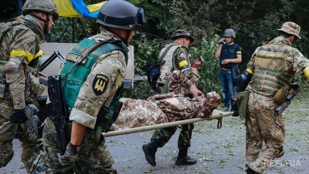 Зона АТО: украинские военнослужащие ежедневно получают ранения