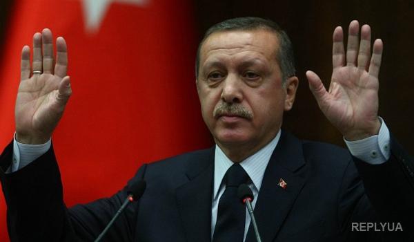 В Турции рябчик опозорил президента во время открытия новой мечети