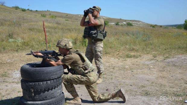 Позиции украинских военных в Старогнатовке подверглись массированным обстрелам