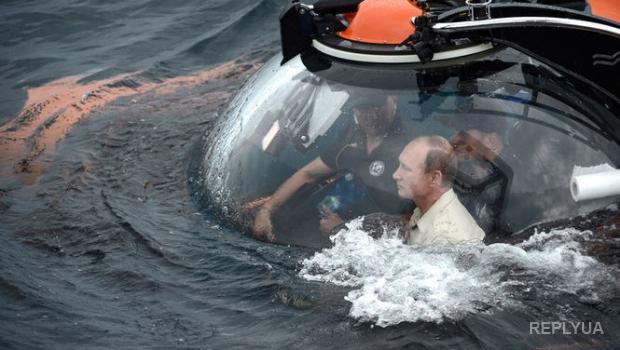 Шепелин: в батискафе под водой лысина Путина особенно прекрасна