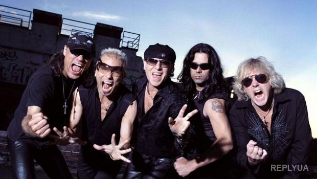 Легендарные Scorpions открестились от выступлений в аннексированном Крыму