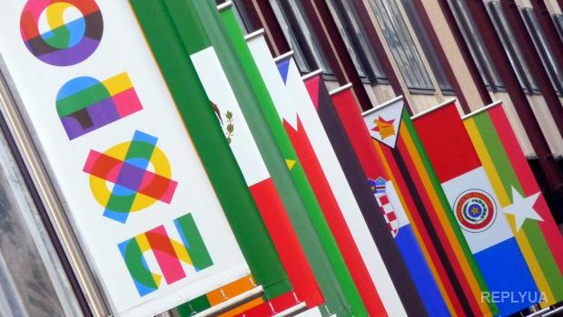 Россия привезла на выставку в Италию карту с российским Крымом