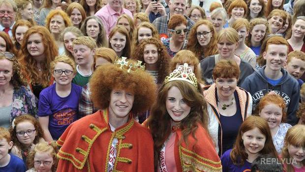 В Ирландии проходит всемирный фестиваль рыжеволосых людей