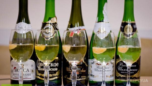 Россия останется без шампанского в новогодние праздники