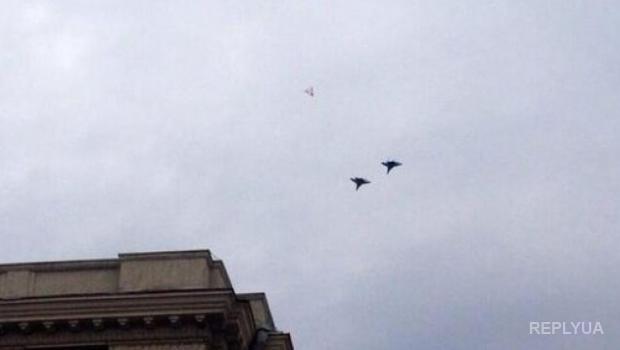 Лысенко объяснил, что за истребители летали над Луганском
