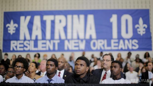 Новый Орлеан: 10 лет спустя после урагана Катрина