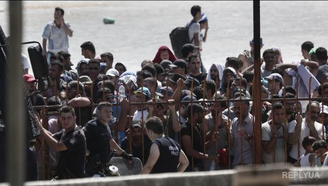Через Грецию прошло полмиллиона беженцев