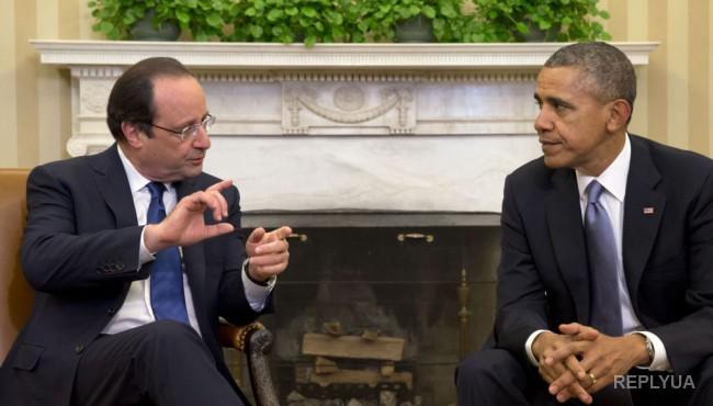 Олланд не смог убедить Обаму в полезности РФ