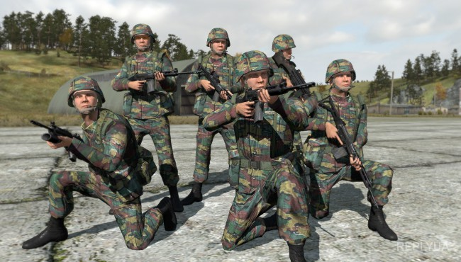Бельгийский бюджет на оборону составляет менее 1% ВВП