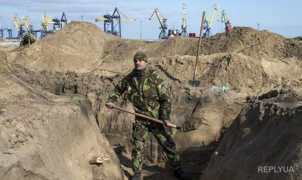 Тымчук: В АТО нет материалов для укрепления позиций
