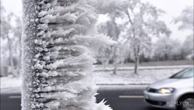 Оклахому атаковал ледяной дождь