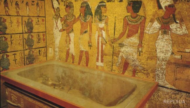 В гробнице Тутанхамона обнаружена усыпальница Нефертити