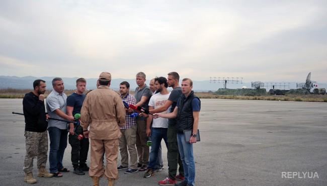 Журналистка: пилота СУ-24 заставили читать текст по бумажке