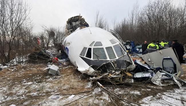 Польша намерена доказать виновность России в крушении Ту-154