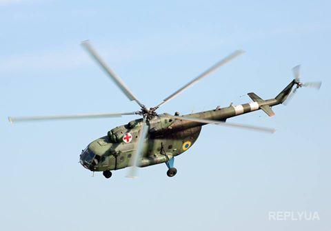 В АТО рассказали о службе экипажей вертолетов