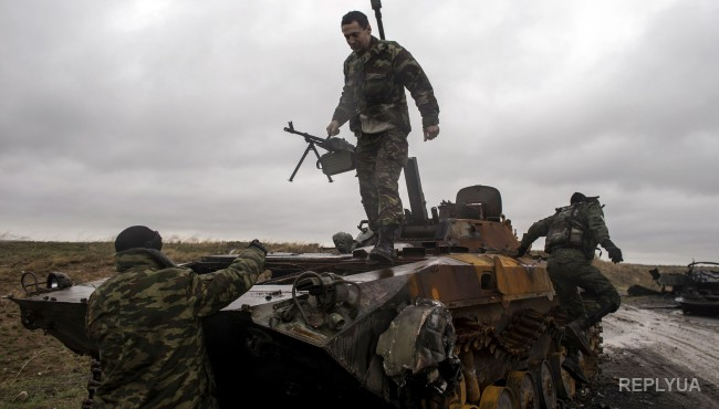 Донецк под обстрелом боевиков