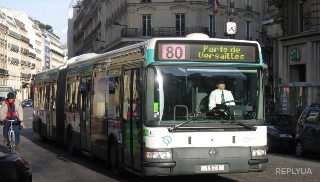 Париж переходит на автобусы будущего