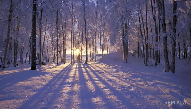 В выходные в Украину придут небольшие морозы