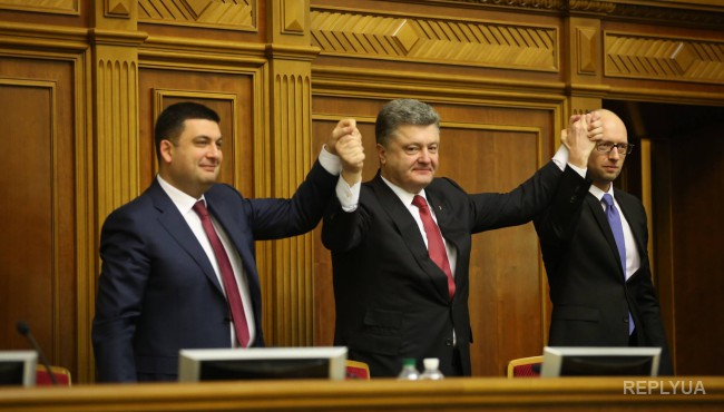 Сазонов: Байден верит в Порошенко, Яценюка и Гройсмана. Без Саакашвили
