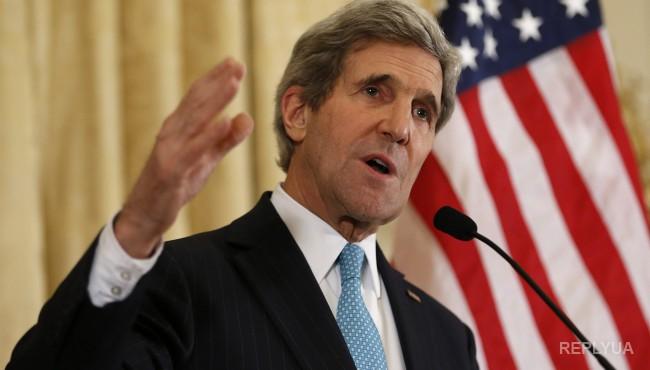 Керри потребовал от Украины соблюдения минских договоренностей