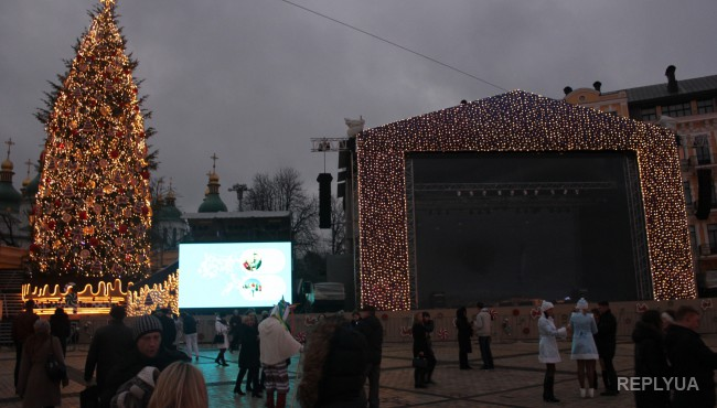 Киевлян и гостей города ждут на новогодней ярмарке до 19 января