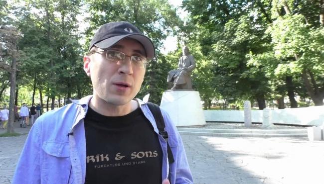 Российский журналист вернулся из Украины с массой впечатлений