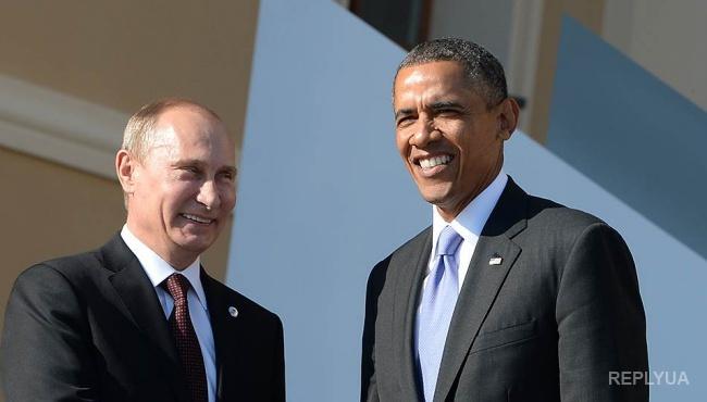 Путин поздравил Обаму и проигнорировал Порошенко