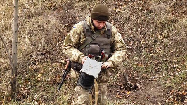 Под Светлодарском найдена российская кассетная ПТМ-3